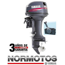 Motor Yamaha 40 Hp 2t Con Arranque Electrico Y Power Trim
