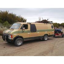 Motorhome Dodge Van Fuerte,còmoda,s/techo Lona 3 Puntales