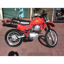 Honda Xl 500 R Año1982 Restaurada