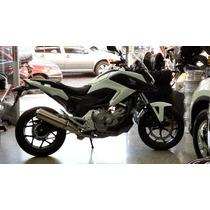 Honda Nc700 X Roja Blanca Entrega Suspenda Jm-motors