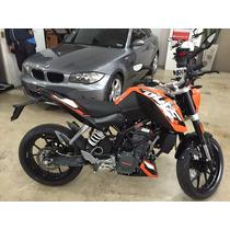 Ktm Duke 200cc 0km Color Naranja, Se Aceptan Permutas
