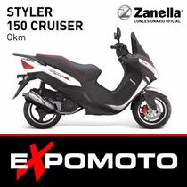 Moto Zanella Styler 150 Cruiser Expo Moto Financiación