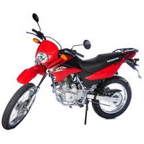 Jm-motors Honda Xr 125 Okm Roja O Negra