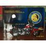 Moto A Escala Harley Davidson Firefighter De Colección