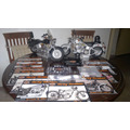 Moto Harley Davidson Fat Boy A Escala 1/4