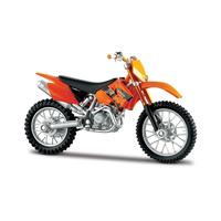 Moto Ktm 525 Ktm Maisto Esc 1:18 Excelentes Detalles Dakar