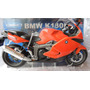 Moto Bmw K1300s Escala 1;10 21cm Marca Welly En Caja