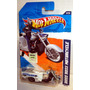Hot Wheels Boss Hoss Motorcycle Blanca Moto 168/244 2011