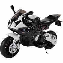 Moto A Bateria P/ Niños Bmw 12v C/ Luces Y Sonidos Babymovil