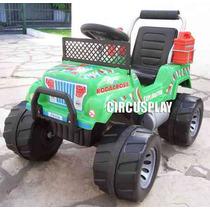 Auto Jeep Karting Explorator 12v A Bateria Niños El Mejor