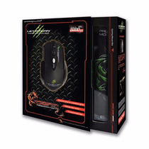Mouse Gamer Leviathan Elephant Laser 3200 Usb Pad Dragon War