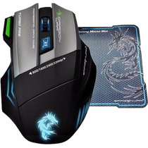 Mouse Gamer Thor G9 Elephant 3200dpi 7 Macros + Regalo !!!