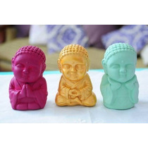 Buda Bebe Decorativo Pintado A Mano