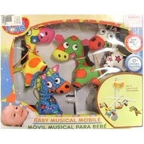 Movil Musical Para Bebes Biba Toys (sweet Babies)