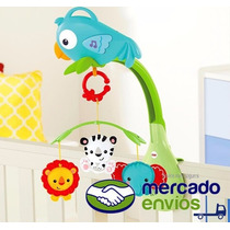 Movil Cunero Musical Bebe Fisher Price Cuna Practicuna Coche