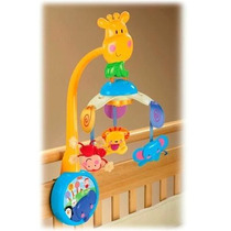 Movil Musical 2 En 1 Zoo Fisher Price