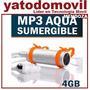 Mendoza Mp3 Sumergible Aqua 4gb Deportivo Resistente Al Agua