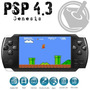 Mp6 Psp 4.3 4gb Juegos Fm Mp3 Mp4 Camara Fotos - Oferta !