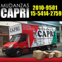 Mudanzas Capri Capital Federal,san Luis- Cordoba-neuquen-