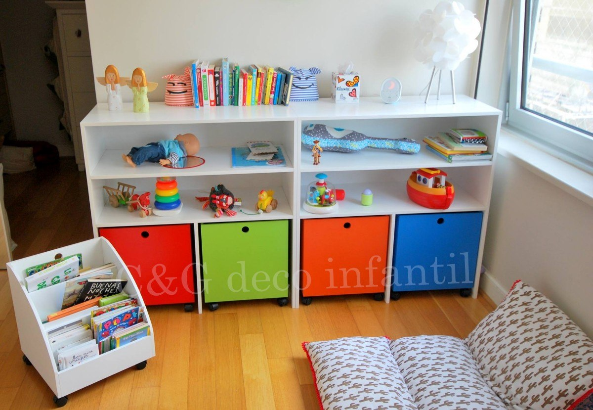 1000 images about muebles infantiles on pinterest for Mueble libreria infantil