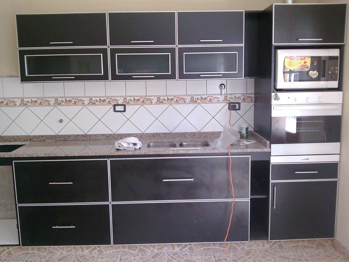 Muebles de cocina de melamina y aluminio 20170714100619 for Cocinas integrales en aluminio