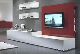 Muebles para television lcd for Muebles modernos para living