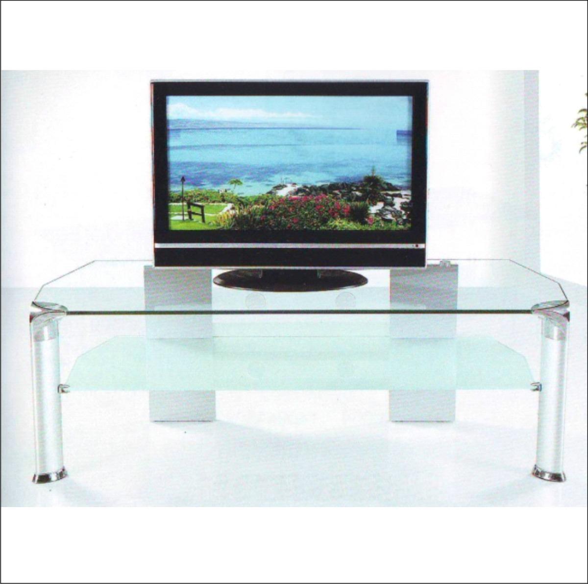 muebles de vidrio templado 20170813182012 On muebles de cristal para tv