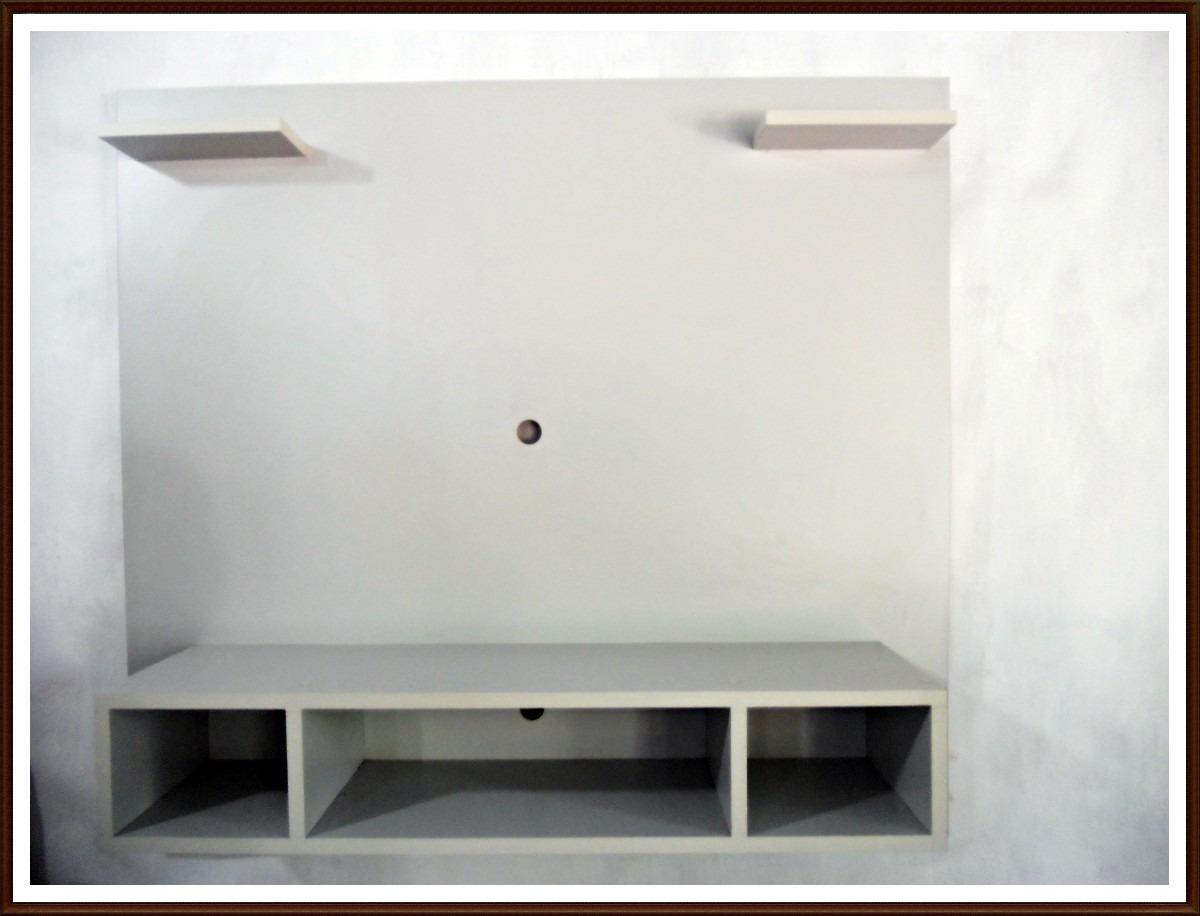 Mueble panel para tv led o lcd mesa tv modular for Mueble para tv led