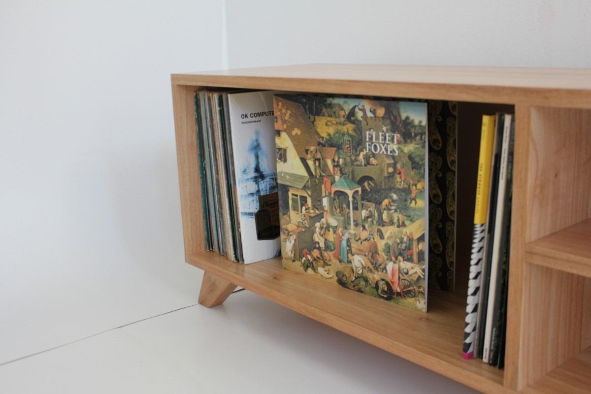 Mueble de madera para tv mercadolibre for Vinilos para muebles