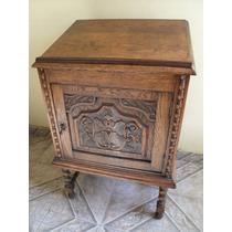 Espejo antiguo tallado en madera de roble muy buen for Muebles antiguos argentina