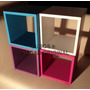 Cubos Estantes Alta Calidad Artesanal 30x30x20 Super Oferta!