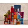 Estantería - Biblioteca Tetris Laqueada