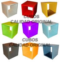 Cubos Bibliotecas De Alta Calidad 30x30x30 Oferta!!! Cubos
