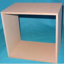 Cubo Fibrofacil 9mm 30x30x20cm - Tambien A Medida - Crudos