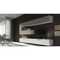Mueble Modular Moderno Lcd Living Progetto Mobili