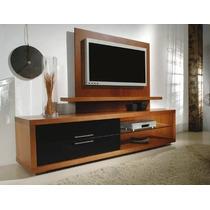 Modular Panel Mesa Tv Rack Lcd Modelo Tulum Muebles Ryo