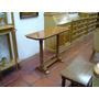 Mesita Roble 100x35cm Carpinteria Dm