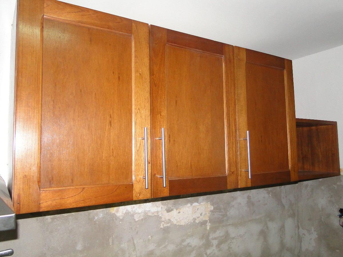 Muebles de cedro lustrado 20170819015751 - Muebles de cocina en madera ...