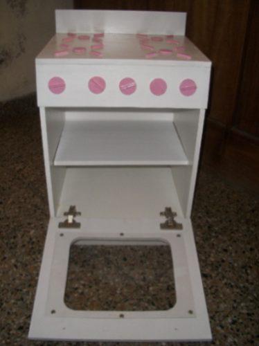 Muebles de cocina para nenas artesanales de madera - Muebles artesanales de madera ...