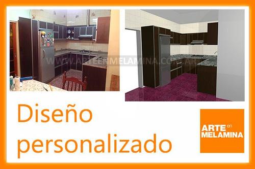 Muebles De Cocina, Placares Zona Sur Y Caba Arte En Melamina  Lomas