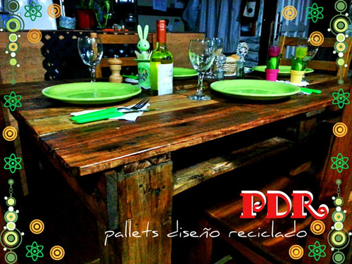 Muebles De Jardín Hechos Con Palets Pictures to pin on Pinterest