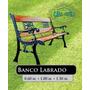 Banco Labrado - Fundicion Hierro Filfer 150 Cm, Blanco