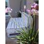 Sillon De Jardin Reforzado De Pallets Reciclados