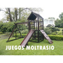 Juegos Infantiles - Reforzados Y Aptos P/ La Intemperie.