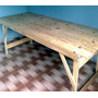 Mesa Para Quincho, Jardin Plegable