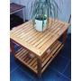 Mesa Ratona Deck -ideal Patios Balcones Jardines Y Living