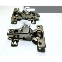 Bisagra Mueble 35mm Codo 0 Codo 10 - X200 Unidades!