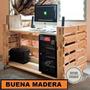 Escritorio Rustico Estilo Palet // Buena Madera