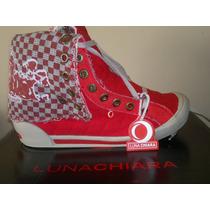 Zapatillas Botitas Luna Chiara-modelo Exclusivo -oferta!