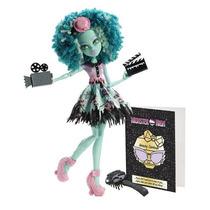 Monster High Honey Swamp Camera Action!!!! - Mattel -